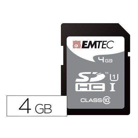 Memoria Emtec Flash SDHC Clase 10