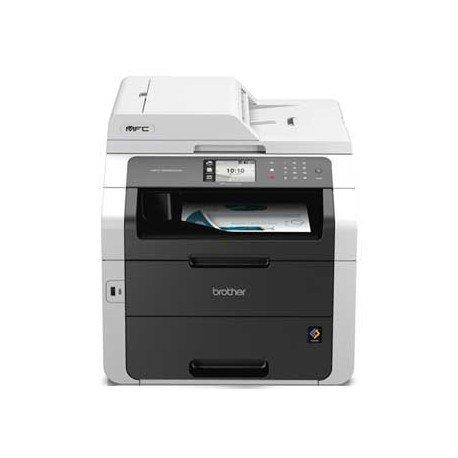 Equipo multifuncion Brother MFC-9330CDW led 22ppm negro/color 192mb duplex escaner copiadora fax usb