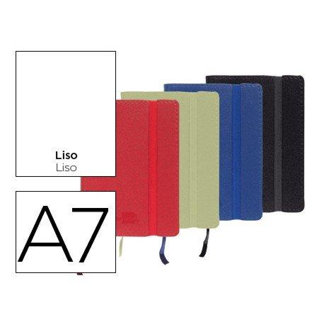 Libreta marca Liderpapel encolada liso Din A7