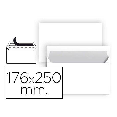 Sobre Liderpapel B5 blanco 90g Caja 25