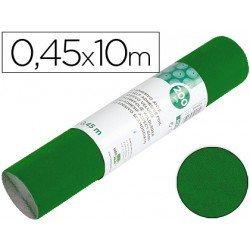 Rollo adhesivo marca Liderpapel Aironfix ante verde