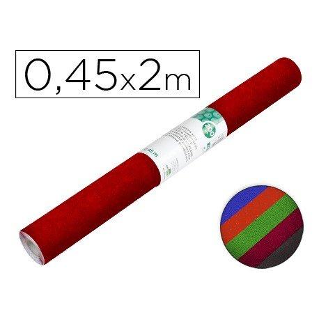 Rollo adhesivo marca Liderpapel Aironfix ante colores surtidos