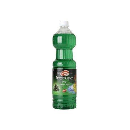 Fregasuelos marca Flota perfumado extracto de pino