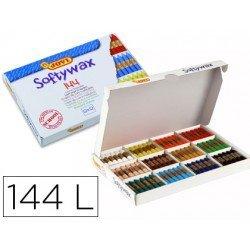 Lapices cera Jovi Softywax 144 unidades