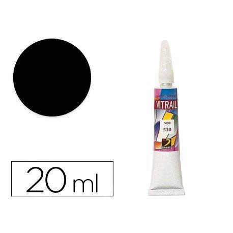 Pasta relieve marca Artist 20 ml negro