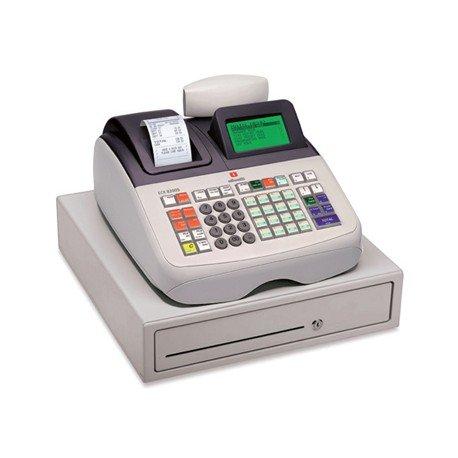 Registradora Olivetti ecr 8200s cajon grande profesional conectable pc y lector codigos