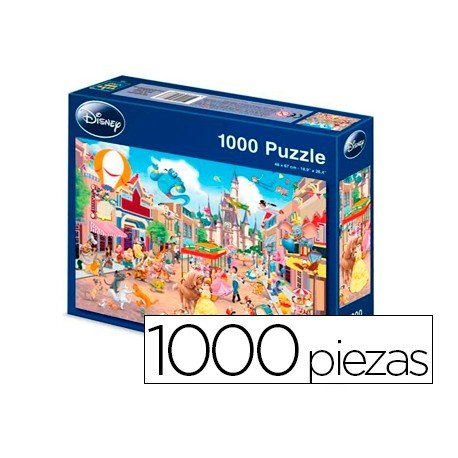 Puzzle Anadel Disneyland de 1000 piezas
