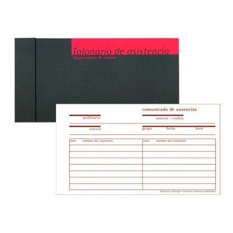 Talonario Additio registro de asistencia