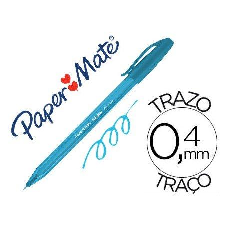 Boligrafo Paper Mate Inkjoy 100 1 mm turquesa