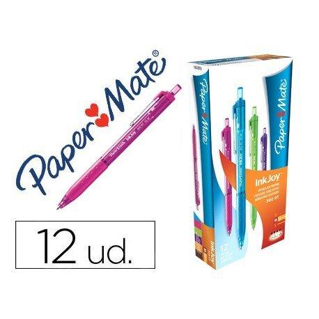 Boligrafo Paper Mate Inkjoy 300 0,2 mm caja colores surtidos