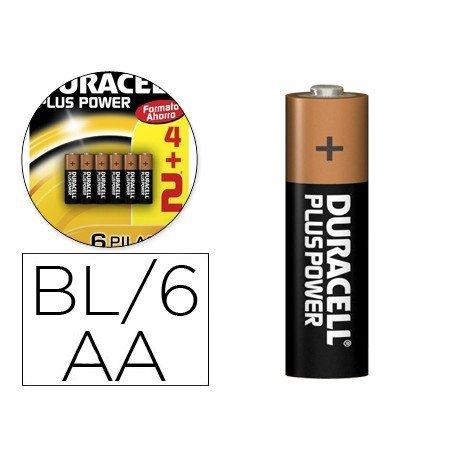 Pila Duracell alcalina AA