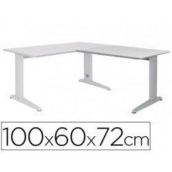 Ala mesa Rocada Metal Gris 2102