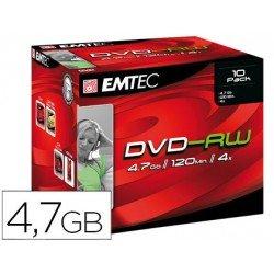 DVD-RV Emtec caja de 10 unidades