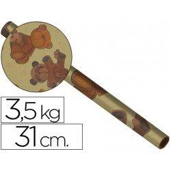 Bobina papel tipo kraft 31 cm 3,5 kg 4241