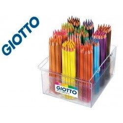 Lapices de colores Giotto schoolpack Hexagonal 16 unidades