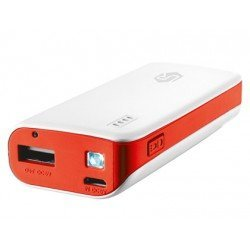 Batería Trust auxiliar portátil 4400 mAh color blanco