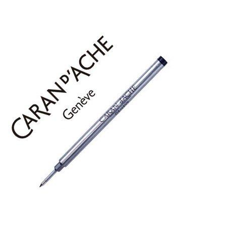 Tinta roller marca Caran d'Ache azul punta media