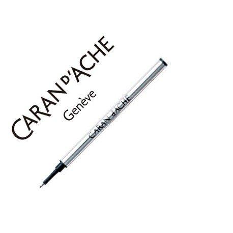 Tinta roller fine marca Caran d'Ache negro punta fina
