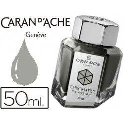 Tinta marca estilografica Caran d'Ache Chromatics gris infinito