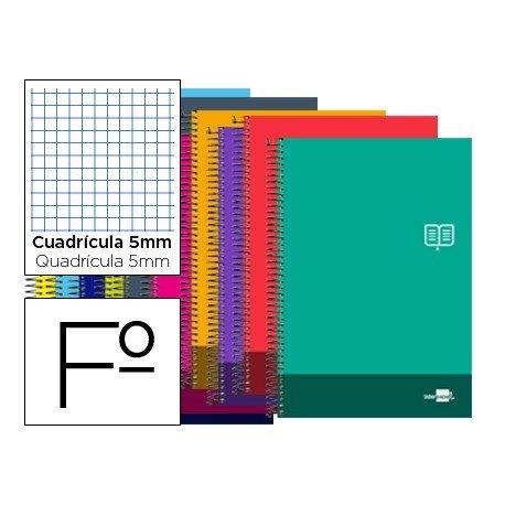 Bloc Folio marca Liderpapel serie Discover cuadricula 5 mm