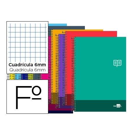 Bloc Folio marca Liderpapel serie Discover cuadricula 6 mm
