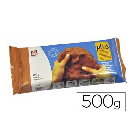 Arcilla Sio-2 Plus color terracota 500 g