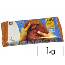 Arcilla Sio-2 Plus color terracota 1000 g