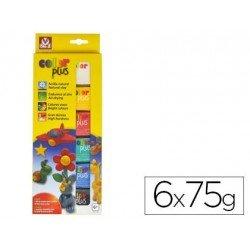 Arcilla Sio-2 paquete de 6 colores surtidos 75g