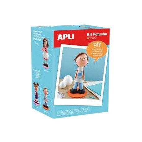 Kit de manualidades marca Apli fofucha niño