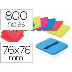 Dispensador Post-it ® PRO Z-Notes 76 x 76 color azul
