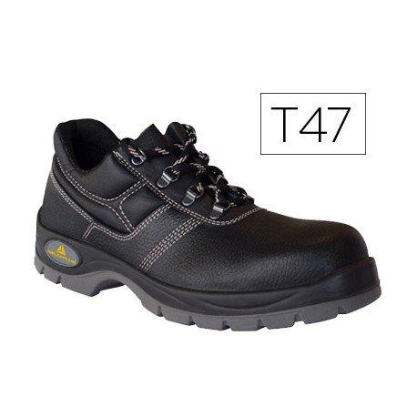 Zapatos de seguridad de Piel DeltaPlus talla 47