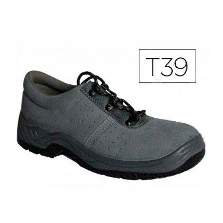 Zapatos de seguridad marca Faru talla 39