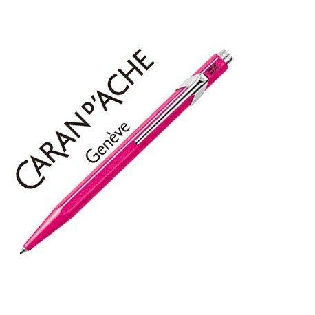 Boligrafo marca Caran d'ache 849 fluor violeta
