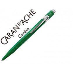 Boligrafo marca Caran d'ache 849 verde