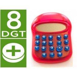 Calculadora marca Imac fantasia rojo