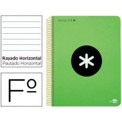 Bloc Liderpapel Folio serie Antartik Rayado horizontal color Verde