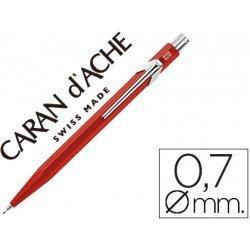 Portaminas marca Caran d'Ache 844 classic line rojo