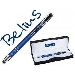 Boligrafo Belius azul con puntero tactil