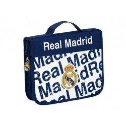 Maletin Escolar Real Madrid 13,5x25x4,5 cm 45 piezas