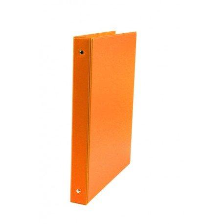 Carpeta Liderpapel 4 anillas 25mm A4 Color Naranja