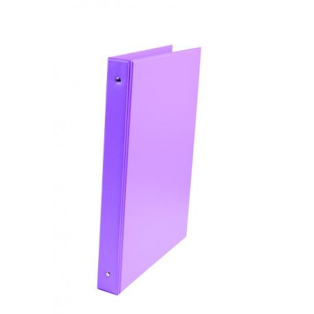 Carpeta Liderpapel 4 anillas 40mm A4 color Violeta