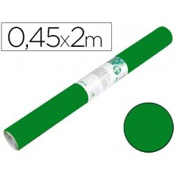 Papel autoadhesivo verde brillo especial ante Liderpapel