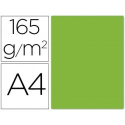 Papel color Liderpapel color lima A4 165g/m2