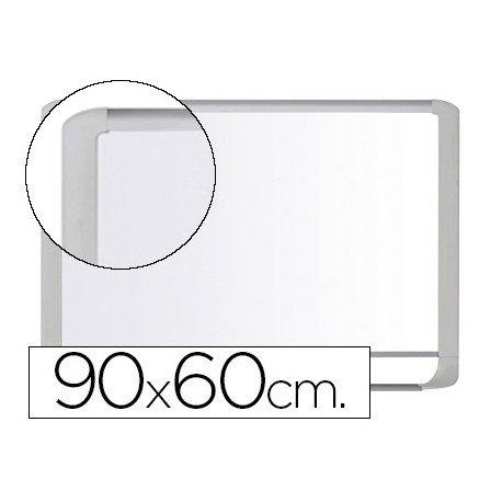 Pizarra Blanca Vitrificada Magnetica con marco de aluminio blanco 90x60 Bi-Office