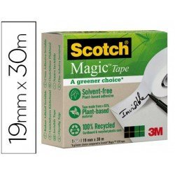 Cinta adhesiva marca Scotch-magic invisible