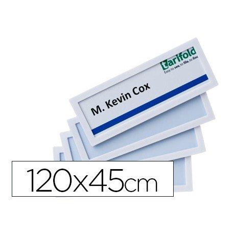 Identificador para puertas-pared Color Blanco 120x45 MM