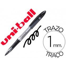 Bolígrafo Uni-ball roller 1 mm retráctil UB-188-L tinta negro