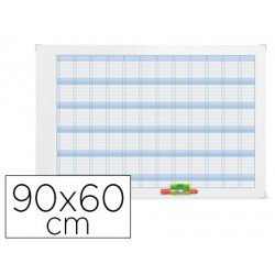 Planning Anual Rotulable Magnético 90x60 cm Nobo