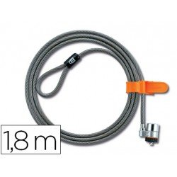 Cable de seguridad para portatil marca Kensington