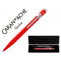 Boligrafo Caran D´Ache Coleccion 849 Classic Line Rojo Punta media